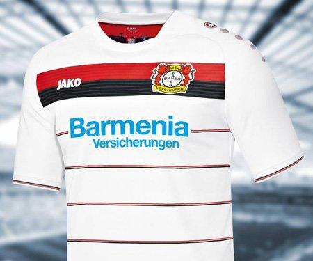 Camisas do Bayer Leverkusen 2016-2017 Jako » Mantos do Futebol