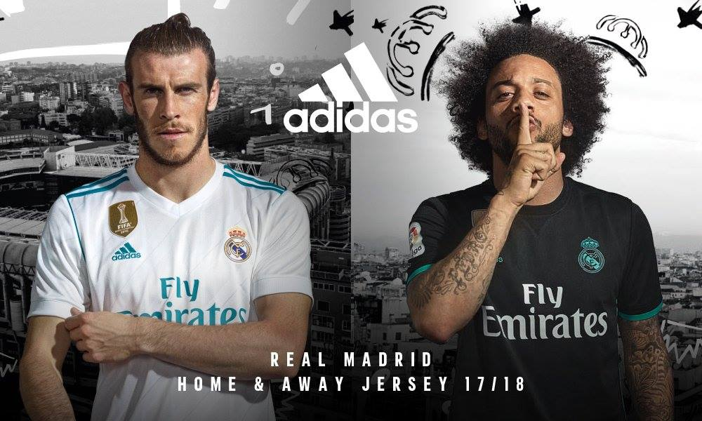 Camisas do Real Madrid 2017-2018 Adidas