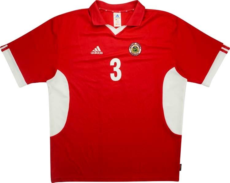 Letônia 2002 Adidas