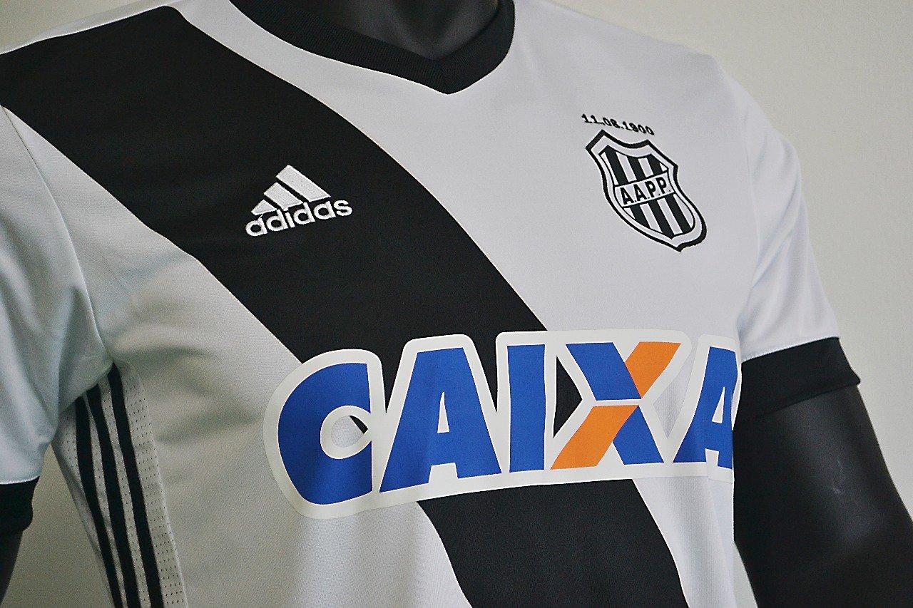 Camisas da Ponte Preta 2017-2018 Adidas