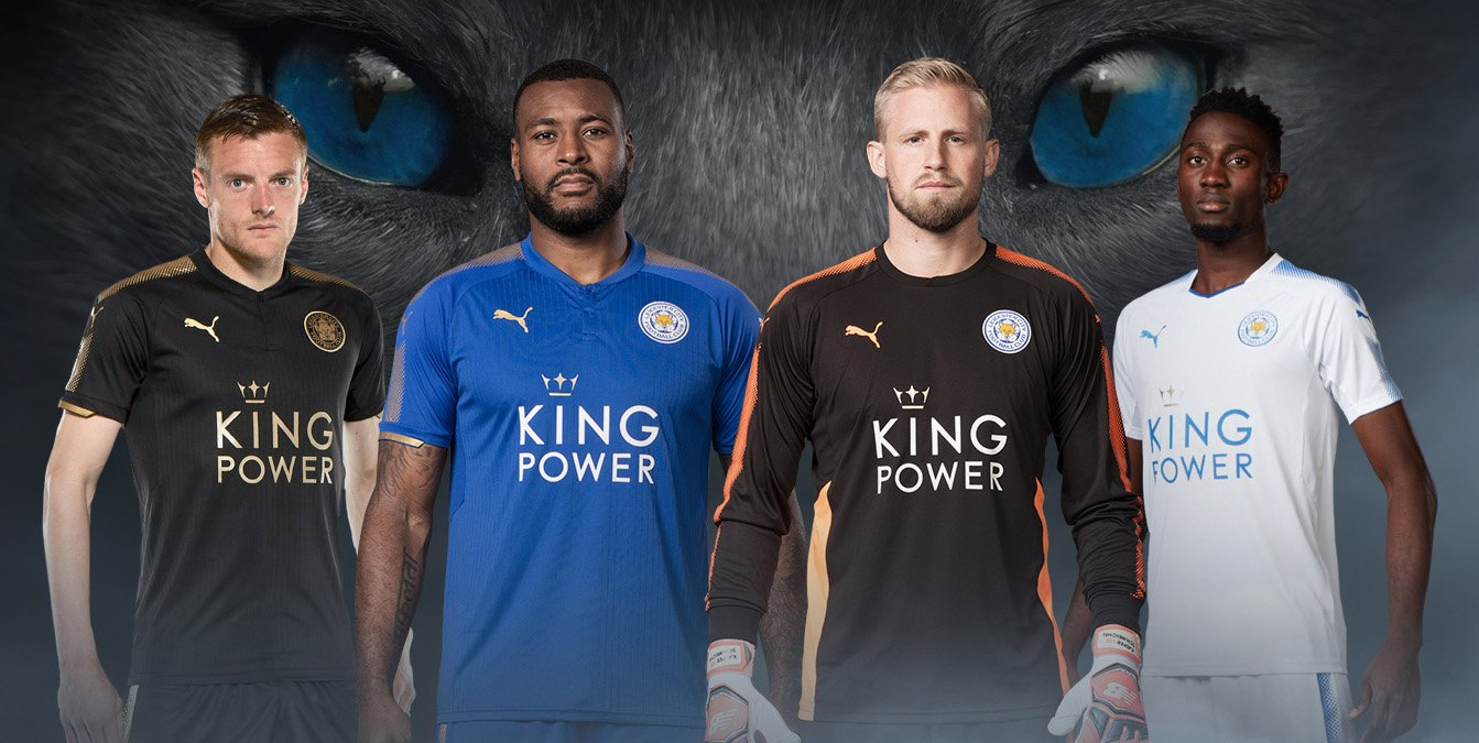 Camisas do Leicester City 2017-2018 Puma