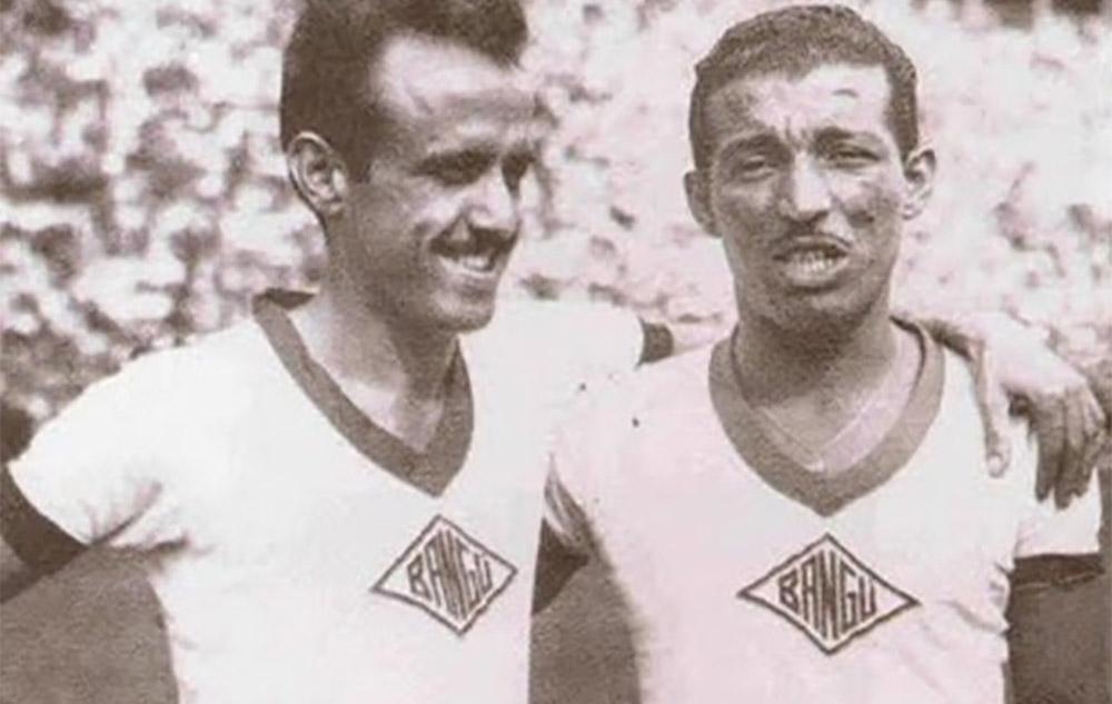 Bangu AC e a Fábrica Bangu pioneirismo no patrocínio de camisas de futebol