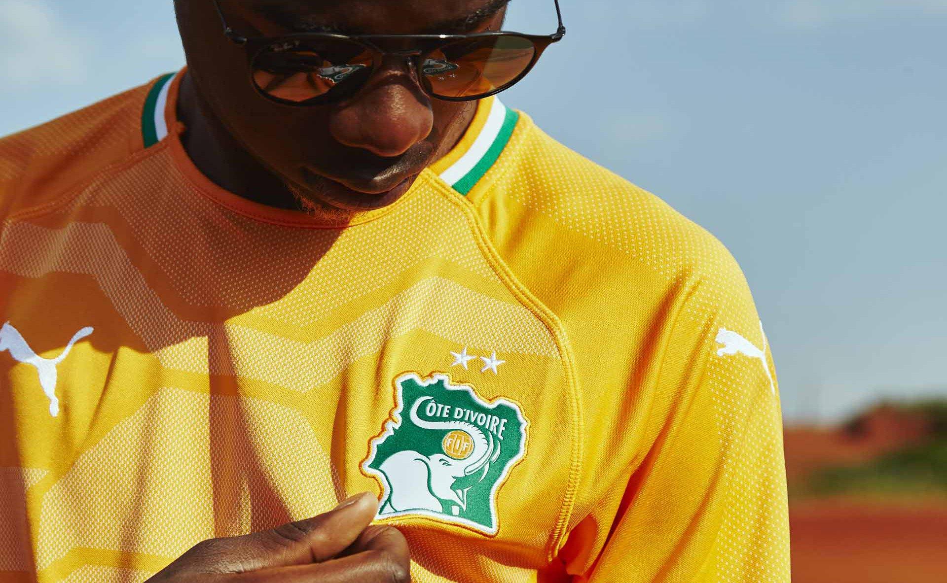 Camisas da Costa do Marfim 2018-2019 Puma