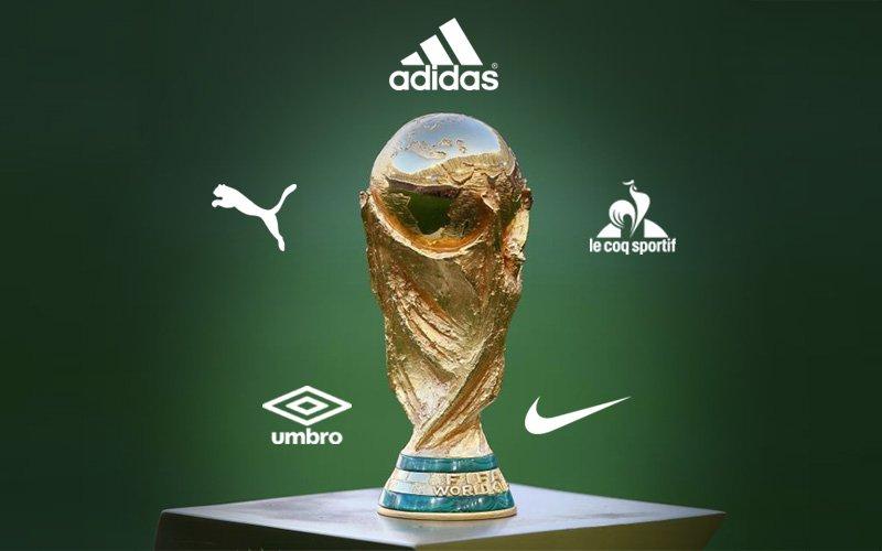 Fornecedoras campeãs das Copas do Mundo a