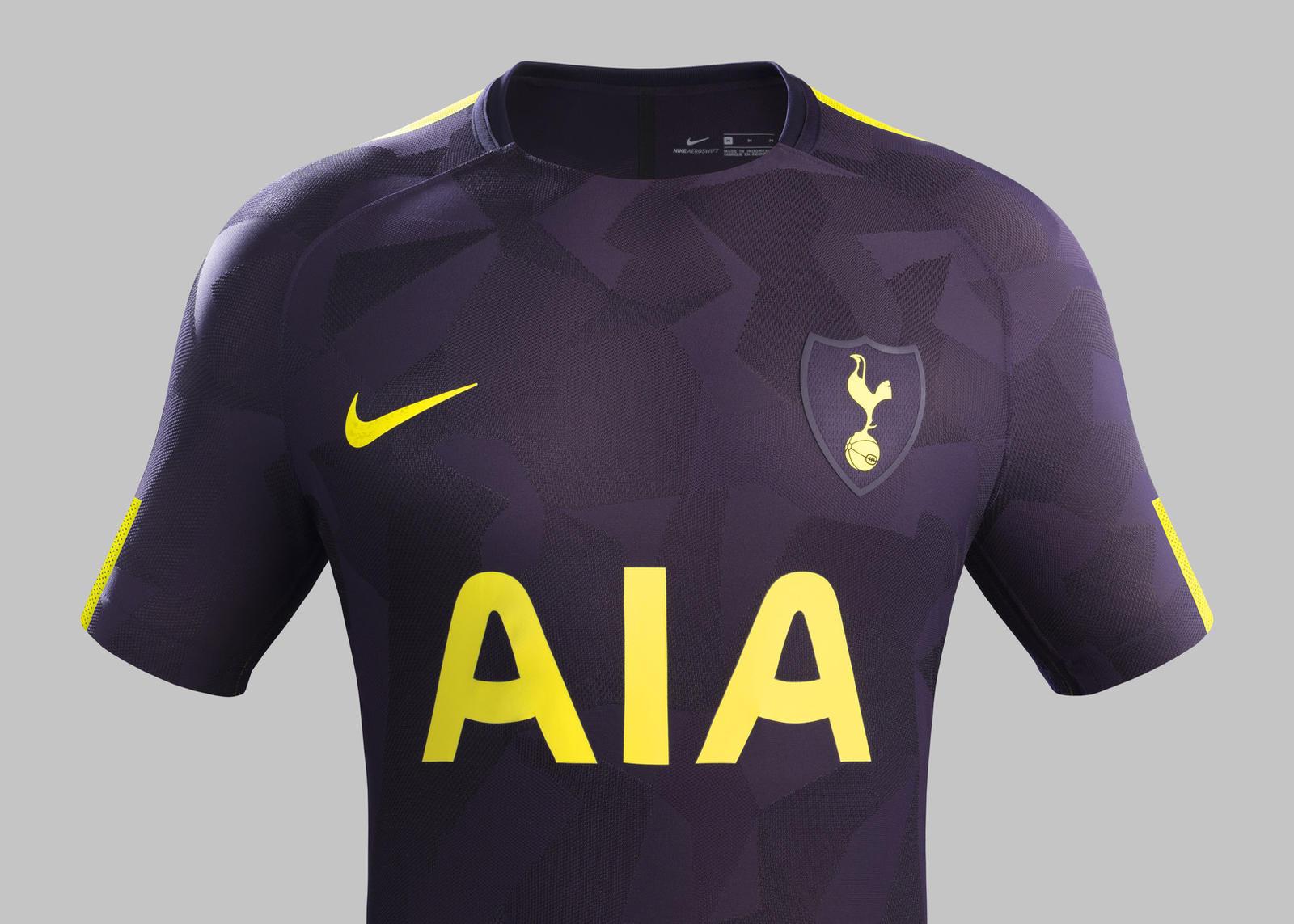 Camisas Do Tottenham 2017 2018 Nike Mantos Do Futebol
