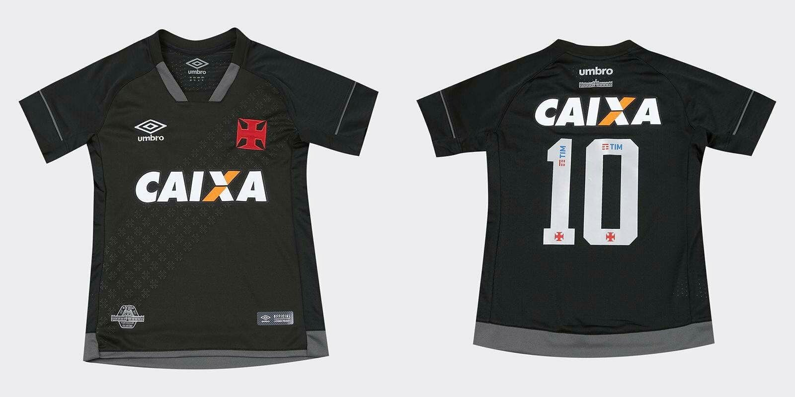 Terceira camisa do Vasco da Gama 2017-2018 Umbro