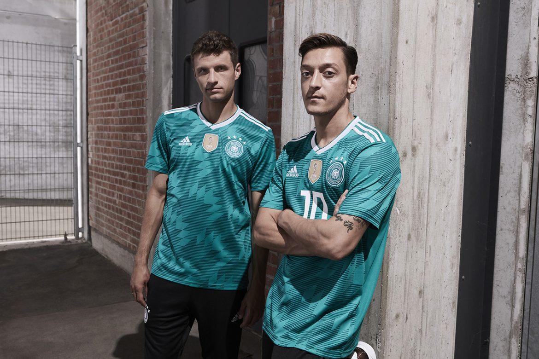 Camisas da Alemanha 2018-2019 Adidas Reserva
