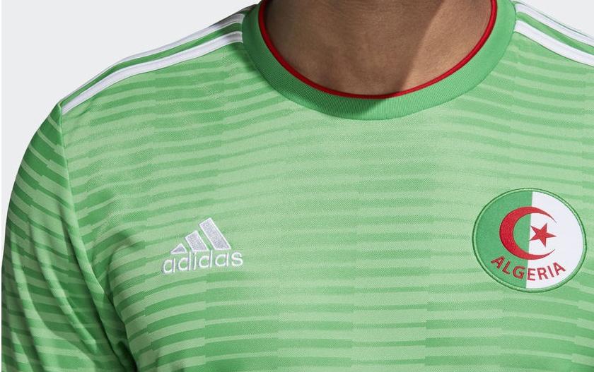 Camisas da Argélia 2018-2019 Adidas