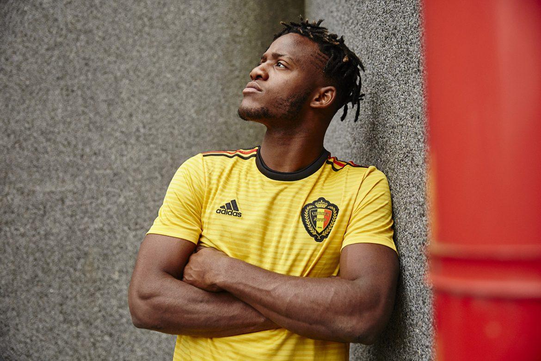 Camisas da Bélgica 2018-2019 Adidas Reserva
