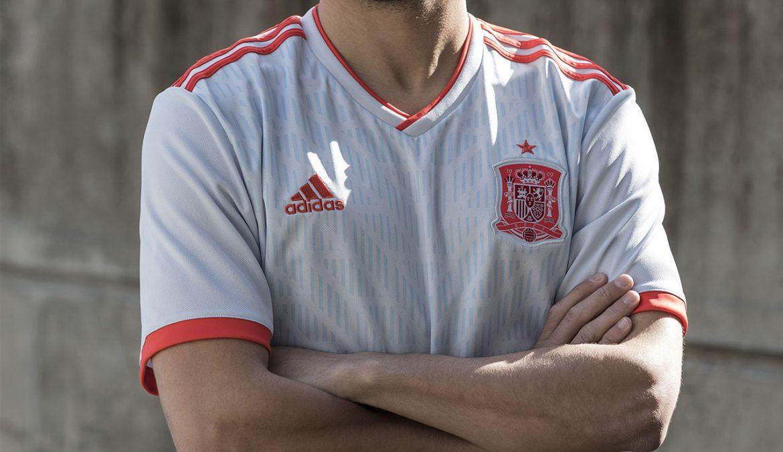 Camisas da Espanha 2018-2019 Adidas Reserva