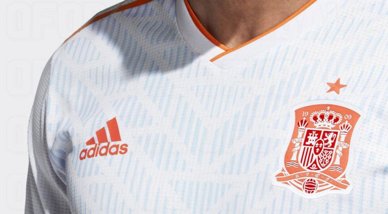 Camisas da Espanha 2018 Adidas Reserva abre