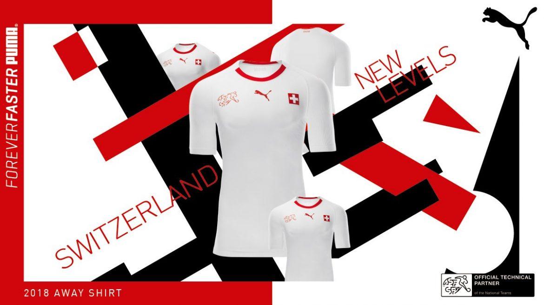 Camisas da Suíça 2018-2019 PUMA Reserva