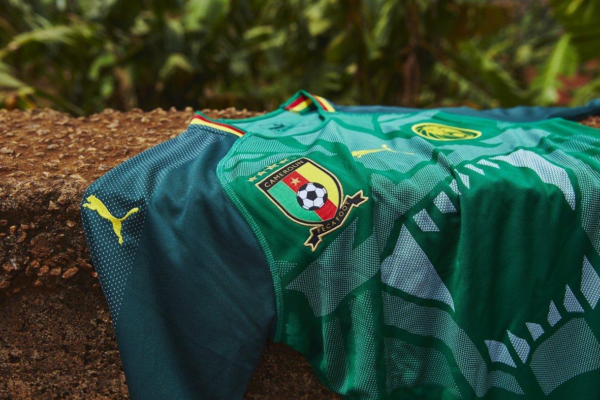 Camisas de Camarões 20182-2019 Puma