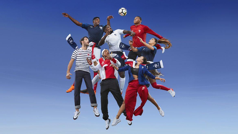 Camisas da França 2018-2019 Nike Copa do Mundo