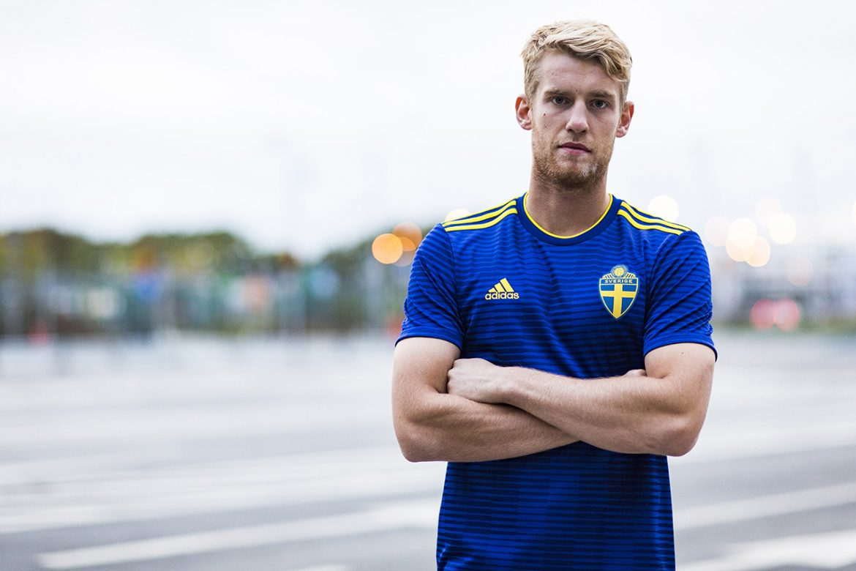 Camisas da Suécia 2018-2019 Adidas Reserva