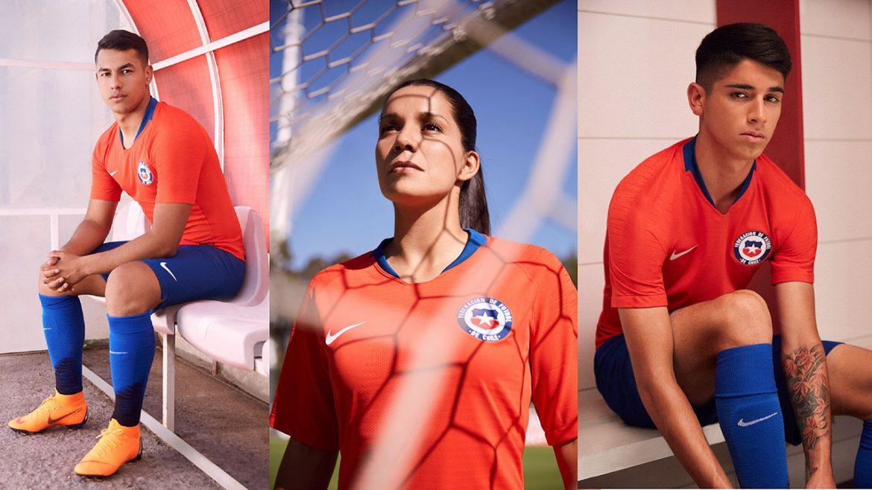 Camisas do Chile 2018-2019 Nike