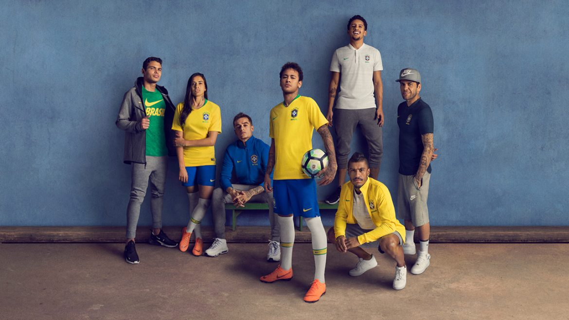 Camisas do Brasil 2018 Nike | Copa do Mundo