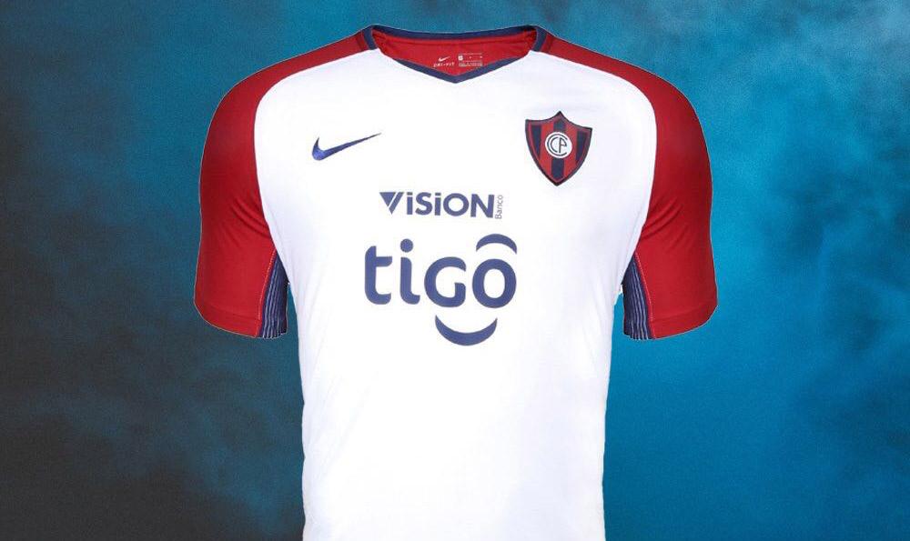 Camisas do Cerro Porteño 2018 Nike Reserva