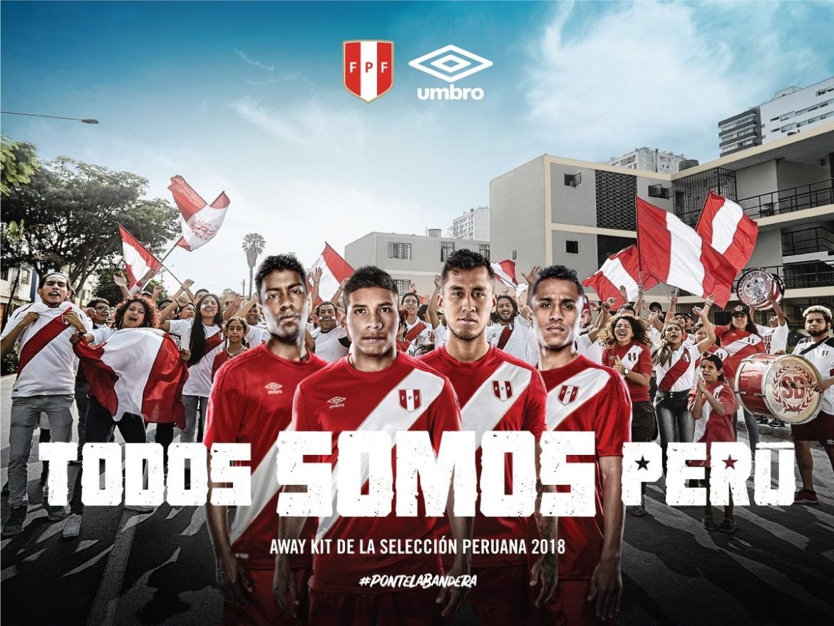 Camisas do Peru 2018 Umbro Reserva Copa do Mundo