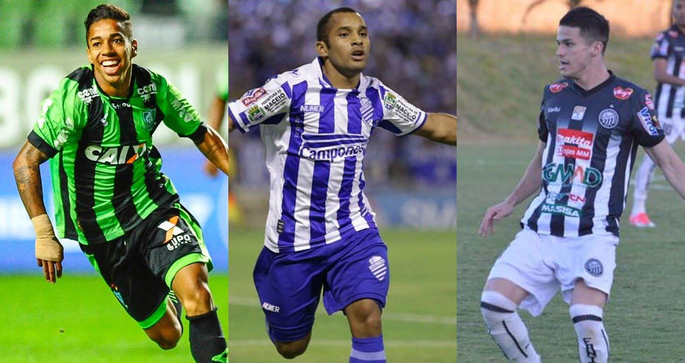 Camisas dos times que subiram nas séries B, C e D do Campeonato Brasileiro