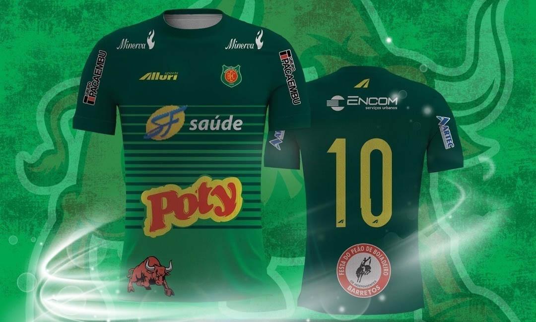 Camisas do Barretos EC 2018 Alluri