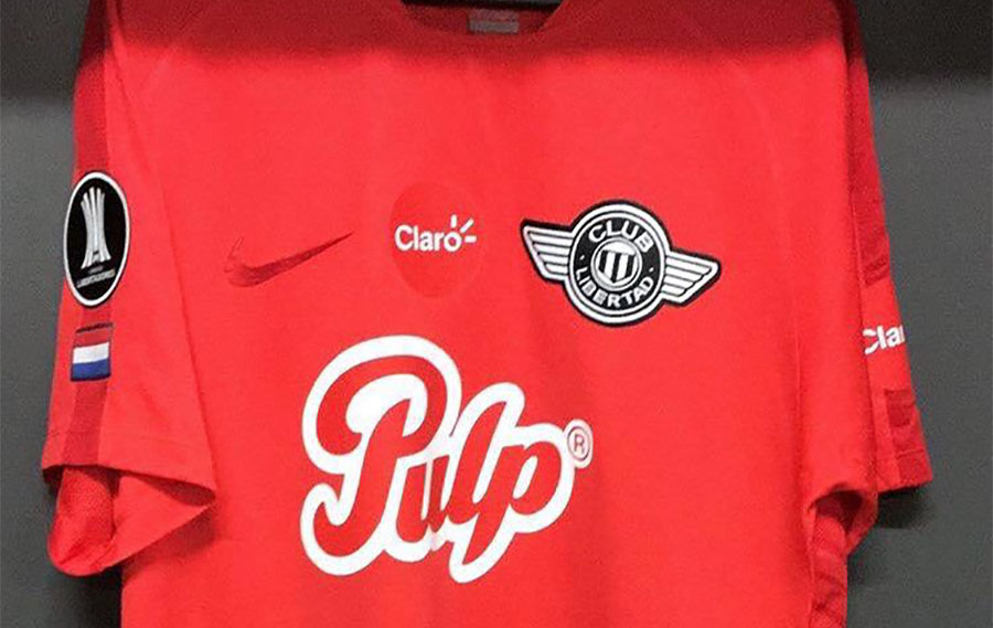 Camisas do Libertad 2018-2019 Nike Reserva abre