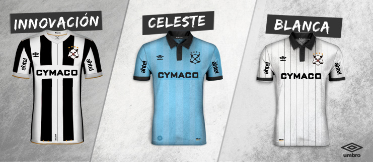 Camisas do Montevideo Wanderers 2018 Umbro