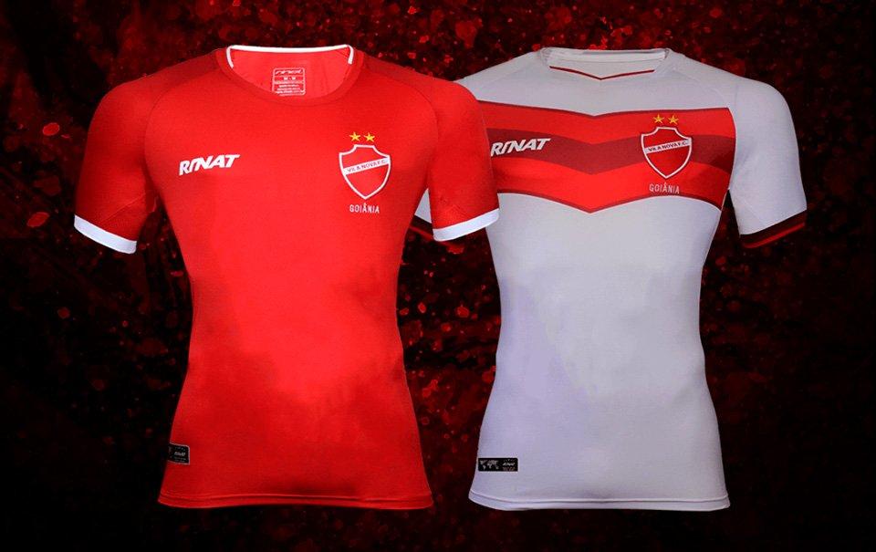 Camisas do Vila Nova 2018 Rinat