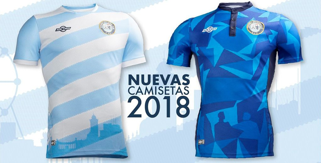 Camisas do Guayaquil City 2018 Astro