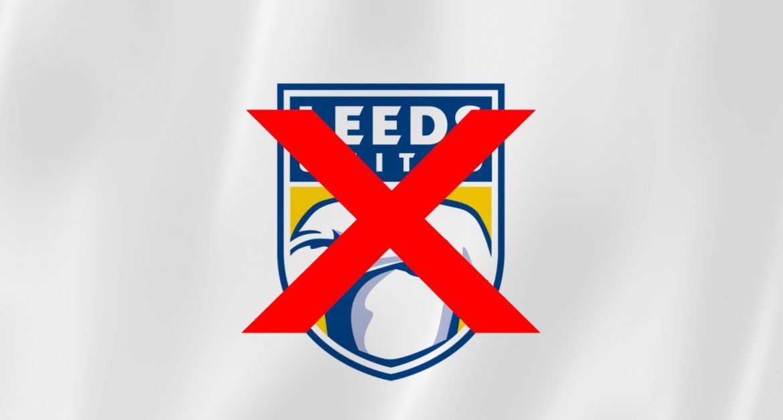 Leeds desiste de novo escudo após enxurrada de críticas