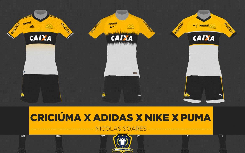 Leitor MDF: Criciúma x Nike x Adidas x Puma (Nicolas Soares)
