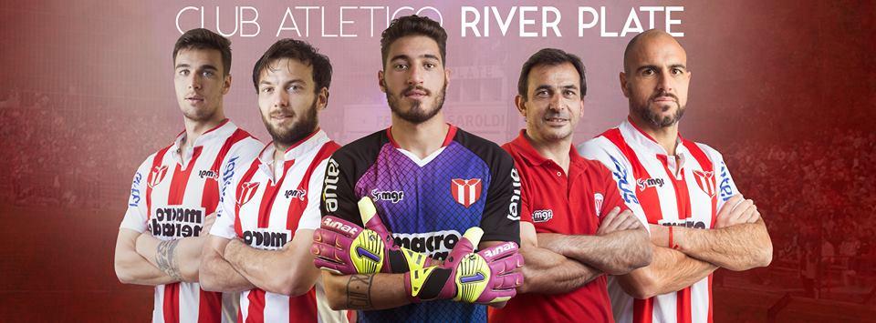 Camisas do River Plate do Uruguai 2018 MGR Sport