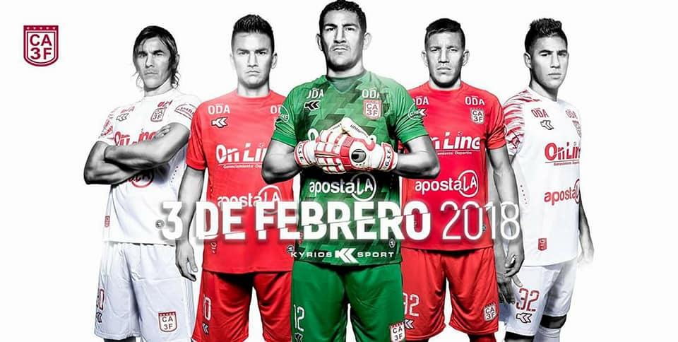Camisas do 3 de Febrero 2018 Kyrios Sport