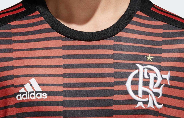 Adidas e Parley lançam camisa pré-jogo ecológica do Flamengo