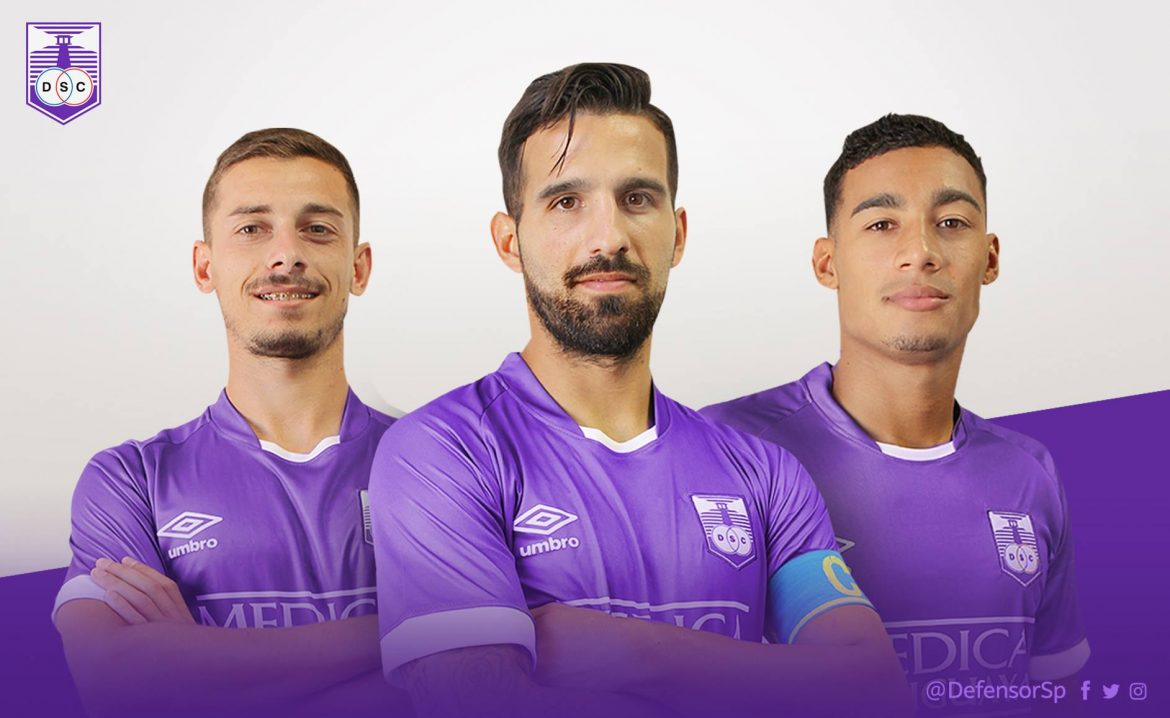 Camisas do Defensor Sporting 2018 Umbro