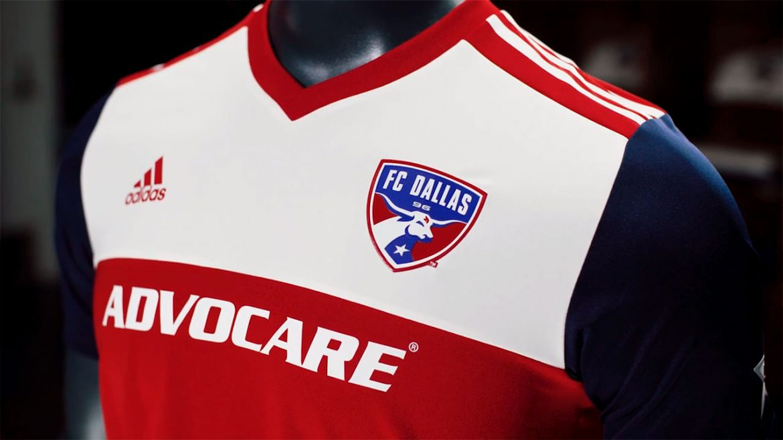 Camisas do FC Dallas 2018 Adidas MLS