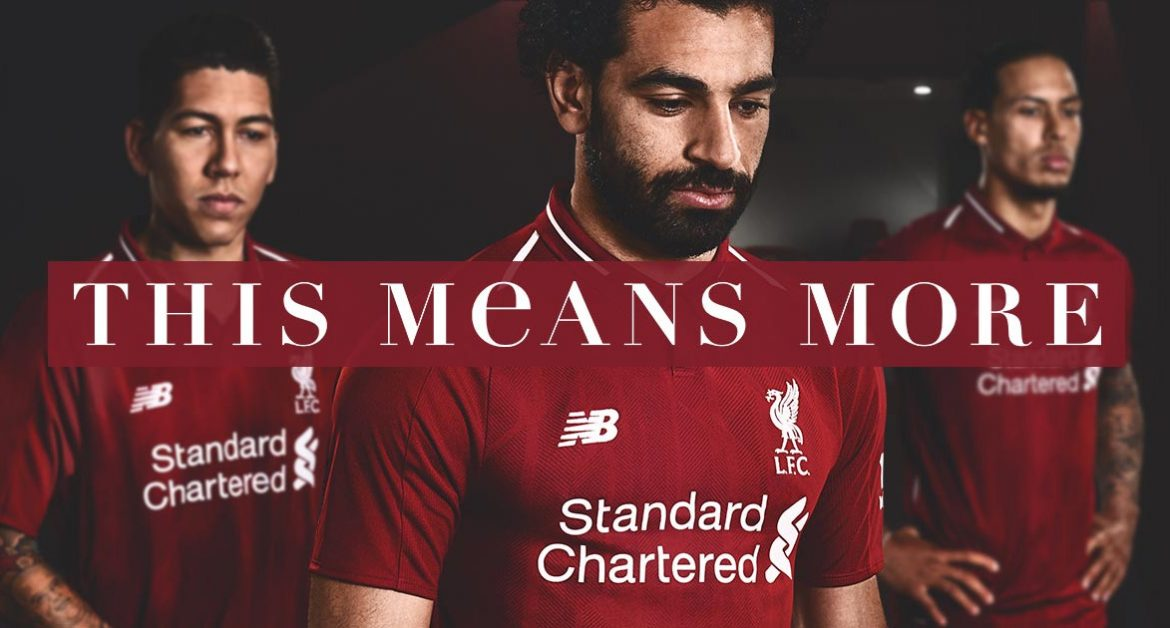 Camisas do Liverpool 2018-2019 New Balance