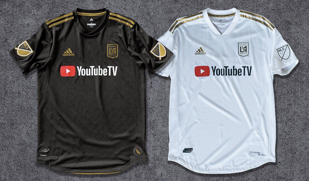 Camisas do Los Angeles FC 2018 Adidas