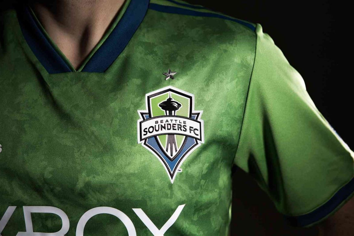 Camisas do Seattle Sounders 2018 Adidas MLS