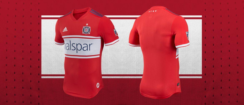 Novas camisas do Chicago Fire 2018 Adidas | Mantos do Futebol