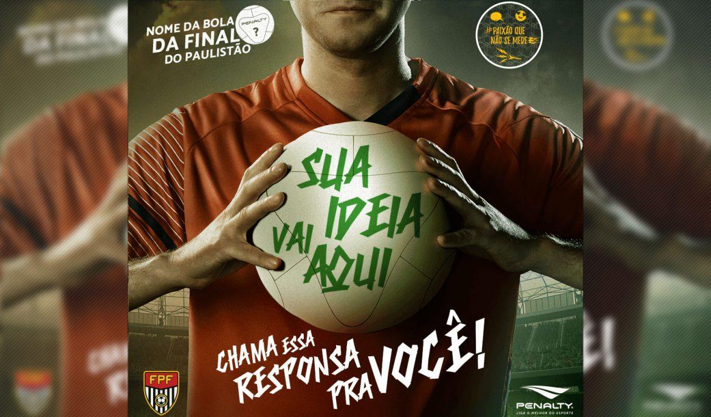 Penalty nome da bola Paulistão