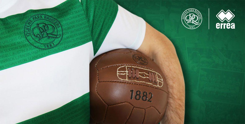 Camisa comemorativa do QPR 2018 Erreà #LOFTUSROAD100