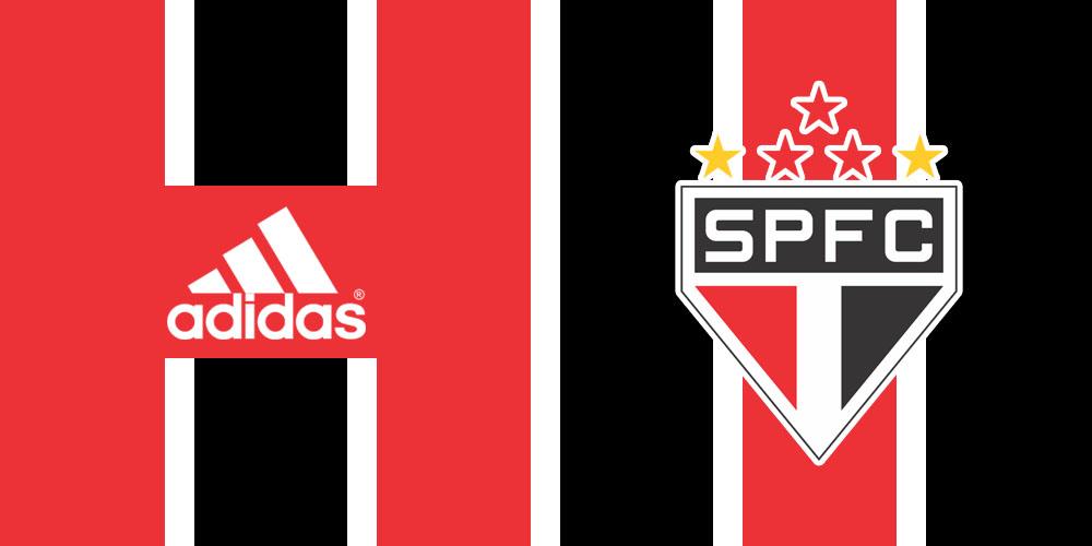 São Paulo Adidas detalhes