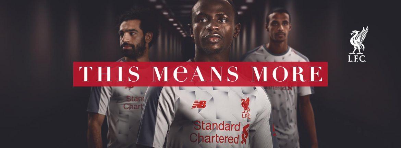 Terceira camisa do Liverpool 2018-2019 New Balance abre