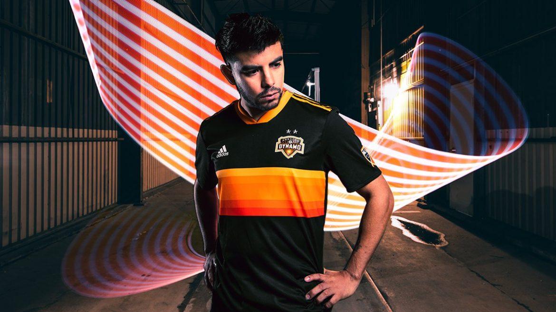 Camisas do Houston Dynamo 2018 Adidas