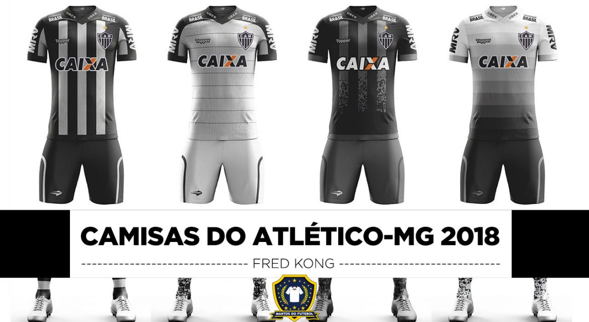 Leitor MDF: Camisas do Atlético-MG 2018 Topper (Fred Kong)