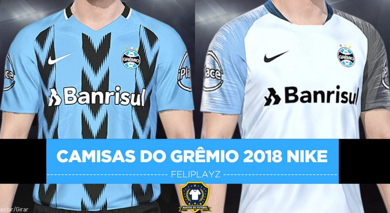Camisa Grêmio 2018 Nike Feliplayz