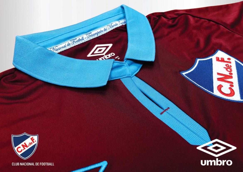 Camisa Abdon Porte Club Nacional 2018 Umbro