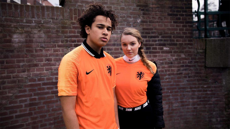 Camisas da Holanda 2018-2019 Nike abre