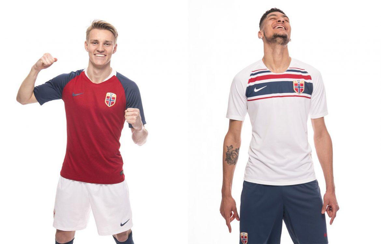 Camisas da Noruega 2018-2019 Nike